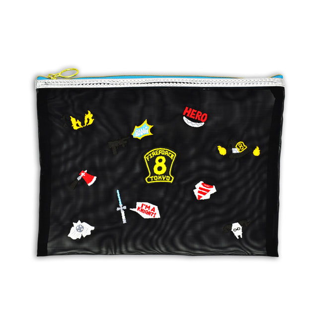 刺繍メッシュポーチ 価格¥2,000(+税) [発送時期]2019 年10月下旬予定 [受注受付期間]2019 年7月11日(木)~2019年7月30日(火)まで