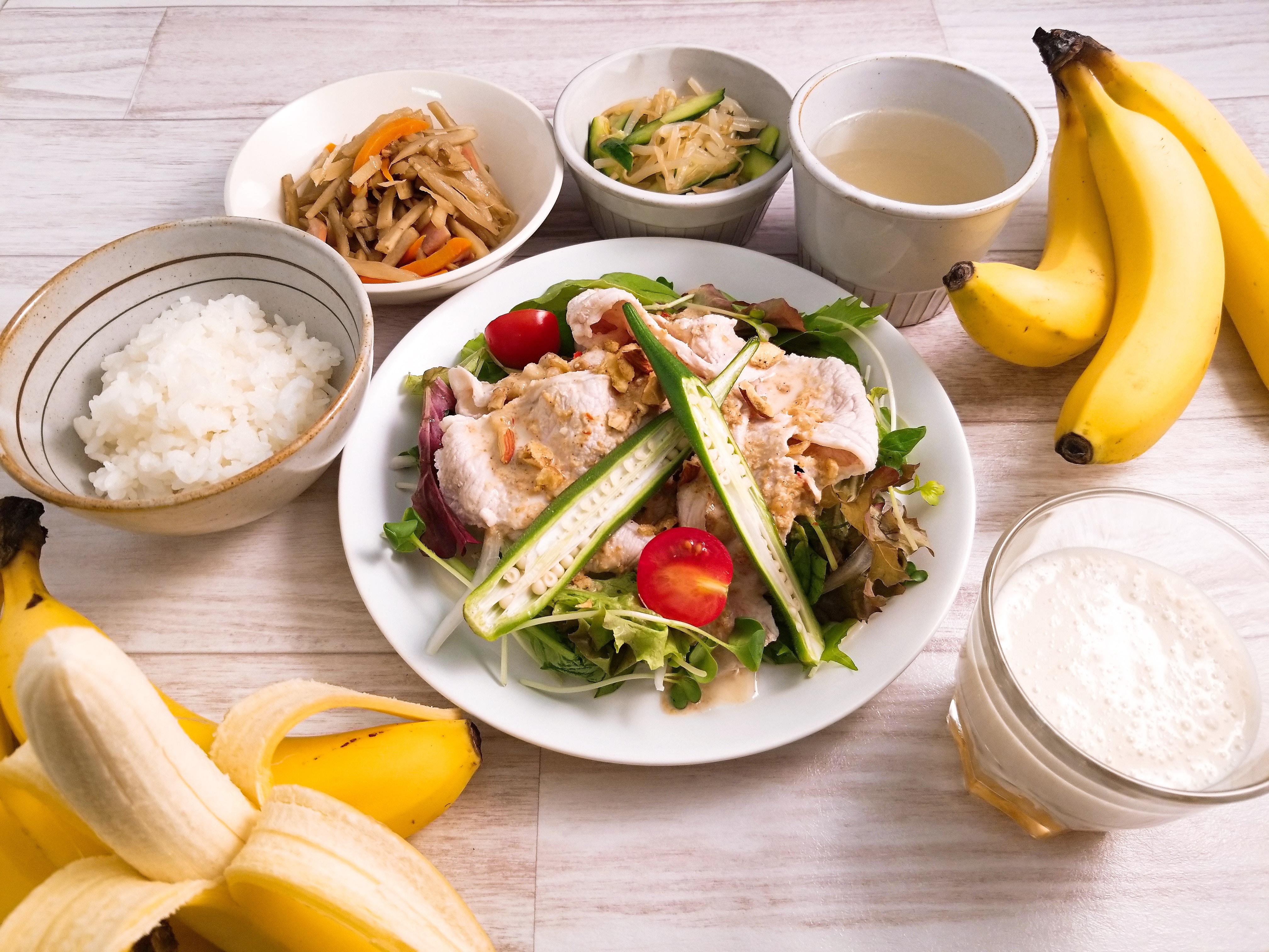8月5日から8月10日まで「丸の内タニタ食堂」で「BANANA WEEK]を開催 週替わり定食「