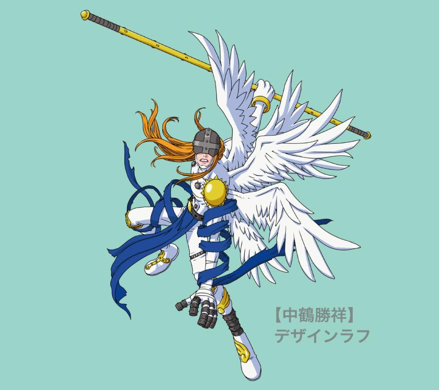 中鶴勝祥さんがクラウドファンディングのために特別に描きおろした「エンジェモン」