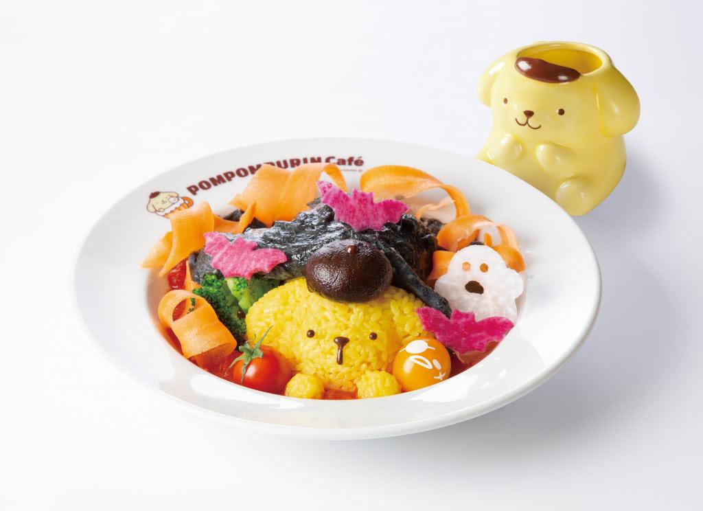 オバケやコウモリが可愛い食材に♪ 『ポムポムプリンカフェ