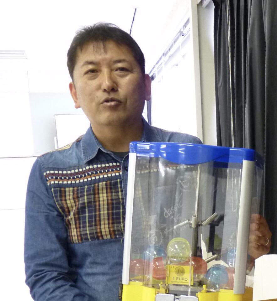 日本ガチャガチャ協会 小野尾氏