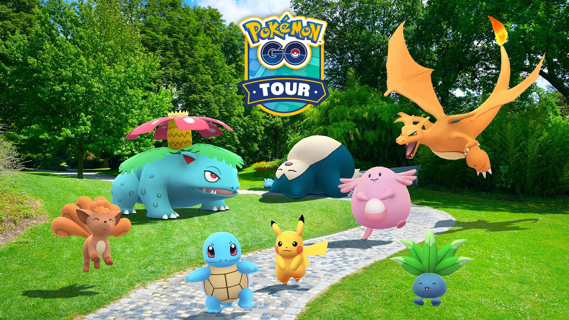 「Pokémon GO Tour:カントー地方」